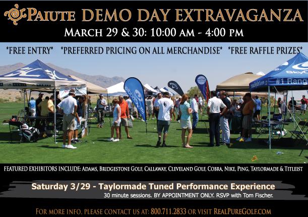 Paiute Demo Day extravaganza